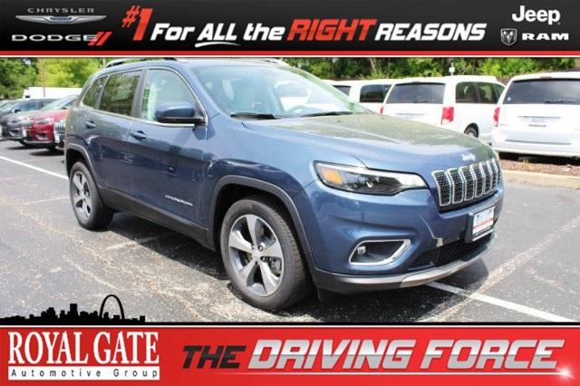 Royal Gate Dodge >> New 2019 Jeep Cherokee Limited Fwd