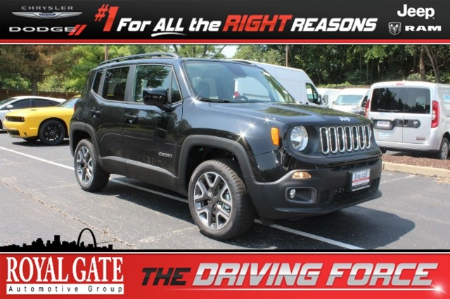 Royal Gate Dodge >> New 2018 Jeep Renegade Latitude 4x4